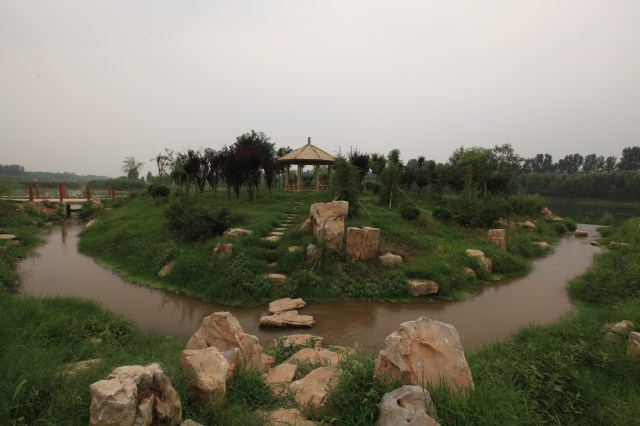 禹城徒骇河人工湿地